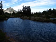 Rachel and Rampart Lakes, Mt. Baker - Snoqualmie National Forest, Washington