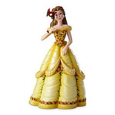 Disney Belle Masquerade Couture de Force Figurine by Enesco | Disney StoreBelle Masquerade Couture de Force Figurine by Enesco - Disney Couture de Force celebrates the mystery and enchantment of a royal masquerade ball where villains and heroines mingle and delight. Belle poses with a red rose petal mask, symbolizing the natural beauty and wisdom beneath.