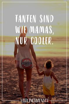Tanten sind wie Mamas, nur cooler - Miss chaos - Bucher Short Messages, Godchild, Visual Statements, True Words, Girl Quotes, Karma, Quote Of The Day, Baby Kids, Kids Fashion