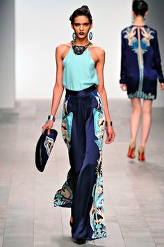 Runway models are not what stylists try to copy, they are inspiration! They have to change what they see is the latest fashion to fit the client's body, personality, and the occasion.