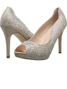 Just ordered my *hopefully* wedding shoes! Will see how they look with the dress. Coloriffics at Zappos. Free shipping, free returns, more happiness!