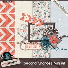 Second Chances mini kit freebie from Scrap'it Designs