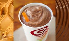 Jamba Juice Peanut Butter Moo'd Smoothie tastes like frozen Reese's Pieces in a cup and is packed with protein. This recipe will show you how to make one.