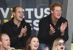 The Cutest Celebrity Siblings in Hollywood |||| Prince William and Prince Harry ||| The two brothers share not only royal blood but also the same passion for sports, like when they attended the 2014 Invictus Games in London. The famous Brits have also accompanied each other to events like the Google+ Hangout and a dear friend's wedding