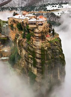 Meteora, Thessaly, Greece  Travel