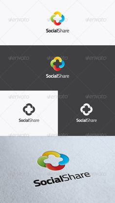 share logo design - Google Search
