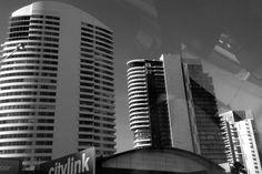 City link Melbourne city  Black and white  #city