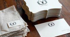 Beautiful letterpress invitation suite for Thanksgiving dinner. #letterpress #stag #silhouette