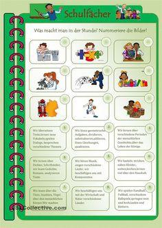 German Resources, German Language Learning, World Languages, Learn German, Worksheets, Teaching, Education, Comics, School