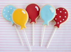 Balloon cookies
