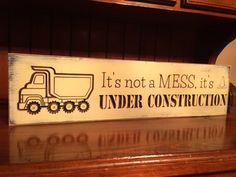 Custom Carved Wooden Sign It's Not A Mess It's by HayleesCloset