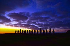 Easter Island, Pääsiäissaari - All pages by Annu Easter Island, South America, Ticket, Lily, Celestial, Sunset, Outdoor, Sunsets, Outdoors