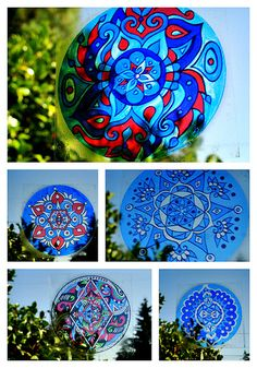 Mandala Window Decals by Eye Pop Art | Flickr - Photo Sharing!