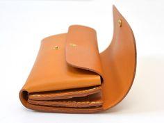 ダブルフラップ長財布(WL-2) 側面マチ