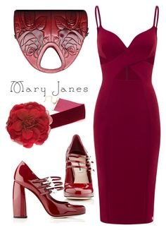 """""""Sweet Mary Janes"""" by andrea2andare ❤ liked on Polyvore featuring Miu Miu, Gucci, maryjanes and polyvoreeditorial"""