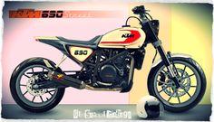 KTM # DUKE 690 SPECIAL # STREET TRACKER