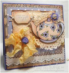 Tea Pot Card!