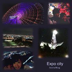 Instagram【8ered】さんの写真をピンしています。 《「ほぼ」日本最大級のショッピングモール 大阪万博記念公園跡地の Expo cityいってきた!!✨💗 日本一の高い123mの観覧車でみる 夜景はほんっとに最高にステキ😍  #大阪 #5日目 #expocity #NIFREL #ららぽーと #観覧車 #日本一 #123m #キレイ #夜景 #足元 #すけすけ #怖いわ #たのしかった #がーなからの #突然の電話 #爆笑》