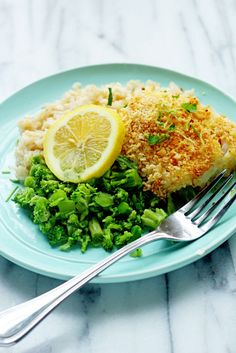 Busy nights can still be delicious! Try this recipe for Lemon Panko Crusted Fish