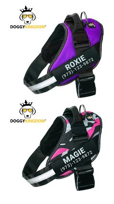 Lifetime Warranty Personalized Doggykingdom® NO PULL Harness Dog Lover Gifts, Dog Lovers, Dog Harness, Dog Leash, Big Dog Little Dog, Group Of Dogs, Dog Furniture, Dog Pin, Dog Clothing