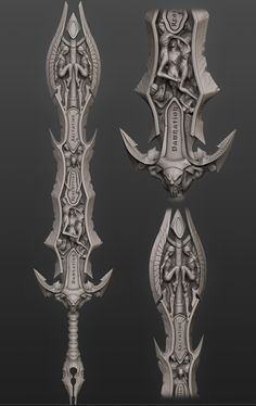 20 best sword images on pinterest swords fantasy weapons and armors this tutorial will show you how to create a hell sword inspired by the chaos eater from darksiders using max and zbrush malvernweather Image collections