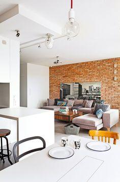 130-metrowe mieszkanie na warszawskim Wilanowie - oryginalne i pełne światła
