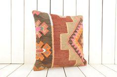 kilim pillow cover turkish pillow kilim cushions bohemian