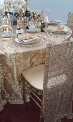 Sequin Glitter Chiavari Chair Cover Jacket by MagpieDecorLinens, £10.00