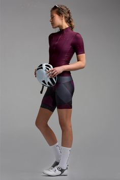Full Gas Aero / Core [ W ] Jersey - Plum