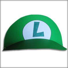 How to Make Custom: Mario & Luigi Birthday Party Hats from Foam