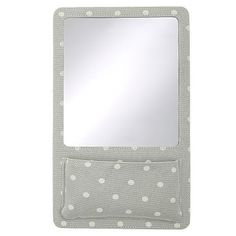 Northfield Grey Dot Locker Mirror Pocket