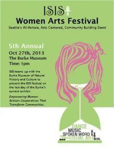 ISIS: Women Arts Festival Seattle, WA #Kids #Events