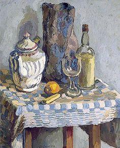 Still Life with a Tea Pot   -    Duncan Grant , c.1929.  British, 1885–1978
