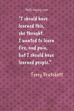 11 Quotes Of Terry Pratchett About Truth - Easiest way to read best lists that contains truth quotes. Truth Quotes, Best Quotes, Love Quotes, Funny Quotes, Quotes Quotes, Terry Pratchett Quote, The Colour Of Magic, Short Poems, Kahlil Gibran