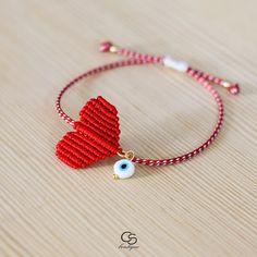 My Christel : Handmade Greek Jewelry and Accessories Evil Eye Jewelry, Evil Eye Bracelet, Leather Bracelet Tutorial, Macrame Bracelet Patterns, Horseshoe Earrings, String Crafts, Greek Jewelry, Jewelry Model, Braided Bracelets