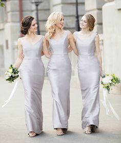 f03eb544cc446 It's the simply chic style from you won't want to miss! The Bridal Boutique  by MaeMe · Bridesmaid Dresses ...