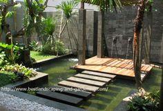 Membuat Desain Taman Minimalis Belakang Rumah | Desain Taman Minimalis