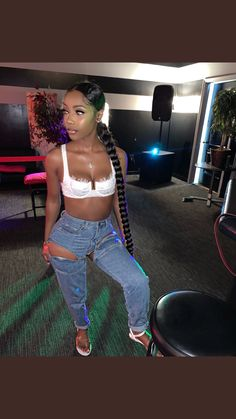 Source by brincessdior outfits black girl Source by brincessdior outfits black girl Cute Swag Outfits, Chill Outfits, Dope Outfits, Trendy Outfits, Summer Outfits, Fashion Outfits, Vacation Outfits, Lit Outfits, Baddie Hairstyles