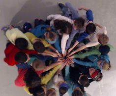 Peace Action Human Mandala | CMIP 21