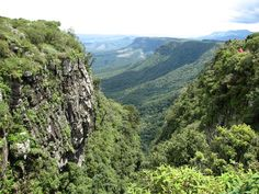 """A spectacular view called """"God's Window"""", located in South Africa I Am An African, Fictional World, Mother Nature, South Africa, Stuff To Do, Scenery, Places To Visit, Window, Spaces"""