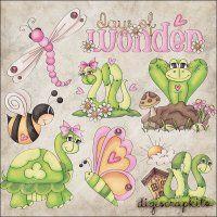 Days of Wonder 1 Clip Art Set