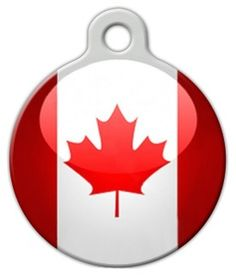 Canadian Flag Custom Pet ID Tag for Dogs and Cats Dog Tag Art SMALL SIZE * Continue to the product at the image link. (This is an affiliate link) Custom Pet Tags, Dog Id Tags, Cat Collars, Tag Art, Pet Supplies, Dog Cat, Pets, Illustration, Artist