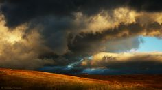 The night rolling in at Hartside Pass, Cumbria, Great Britain. I just returned from a two week holiday to England ------ My photos are NOT stock. Cotton Clouds, Gods Creation, Cumbria, Nature Images, Ciel, Great Photos, Great Britain, Magick, Landscape Photography