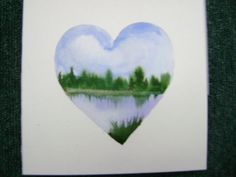 Perfect idea for any shape (watercolor)