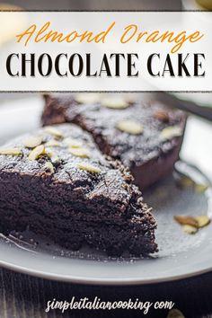 Easy Desserts, Delicious Desserts, Easy Italian Desserts, Italian Recipes, Italian Chocolate, Chocolate Orange, Cake Recipes, Dessert Recipes, Party Recipes