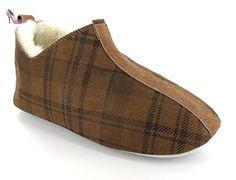 SHEPHERD lina - Marron - checked braun, 36 EU - Chaussures shepherd (*Partner-Link)