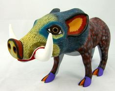 OAXACAN wood carving WIL...