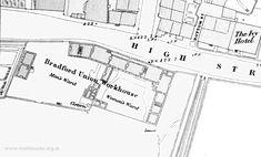 Bradford workhouse site, 1848
