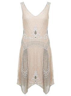 Miss Selfridge Fleur-Kleid im Stil der 20er-Jahre