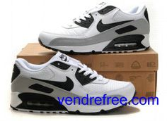 f6835f57222 Vendre Pas Cher Homme Chaussures Nike Air Max 90 (couleur blanc